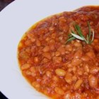Western-Style Baked Beans - My husband does not like baked beans but can't get enough of these.  They are loaded with a variety of meats and get a little bit of sweetness from molasses and brown sugar.