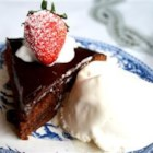 Brownie Torte - This torte is delicious and very rich.