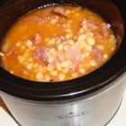 Navy Bean Soup II - For those of you who refuse to believe that bean soup can be made without ham hocks.  In fact, ham hocks, navy beans, onions, and a can of tomato sauce are all you need for this recipe.
