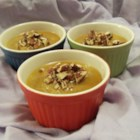 Pumpkin Pot De Creme - This gourmet dessert is a wonderful alternative to the Thanksgiving standard of pumpkin pie. I like to offer 2 desserts for that day. This one can be made the day before, freeing up valuable time on Thanksgiving Day for other preparations.  These melt in your mouth.