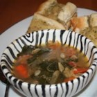 Kale Soup with Portuguese Sausage - A hearty kale and sausage soup is very easily converted for the vegetarians. Cooked in a slow cooker or simmered on the stove, this makes a delicious, satisfying, and filling winter dinner.