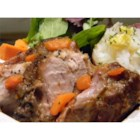 Slow Cooker Cider Pork Roast - This pork roast is very tender and full of flavor.