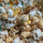 Popcorn Nachos - Mexican-style spices and shredded Cheddar cheese are lively additions to plain popcorn.