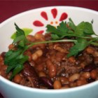 Sweet Barbeque Beans - Sweet barbeque beans loaded with bacon and ground beef and a surprisingly sweet flavor.  The taste of these beans is to die for!