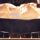 Yorkshire Pudding - A yummy and traditional addition to the Thanksgiving feast. If you intend to make this on Thanksgiving day, the timing has to be juuuuust right. I would suggest preparing the mixture the evening before, and having it ready while the roast beef is cooking.