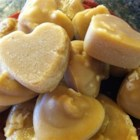 Pure Maple Candy - Pure, creamy, melt-in-your-mouth maple candy using only pure maple syrup! It's a treat almost like fudge. Add anything you want like chopped nuts. Use small maple leaf molds or other pretty shapes..
