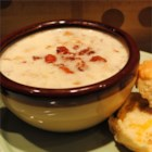 Fish Chowder I - A creamy fish chowder made chunky with potatoes, onions, and bacon.