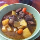 Rustic Slow Cooker Stew - This simple stew tastes totally gourmet, and is a snap to prepare -- your slow cooker does most of the work! This recipe yields enough to feed a very satisfied army!