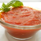 Best Marinara Sauce Yet - Tomatoes, parsley, garlic, and oregano go for a spin in your food processor before simmering with onion and a dash of white wine in this marinara sauce recipe.