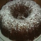 Fresh Apple Spice Cake - This is a lovely fall dessert which is a lovely moist and dark cake.