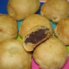 Adzuki Mooncake - Homemade adzuki bean paste is wrapped in a golden syrup pastry to create these traditional Chinese cakes.