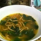 Garlic Spinach Soup