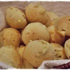 Brazilian Cheese Puffs (Pao de Queijo) - These baked cheese puffs are made with yogurt, Parmesan cheese, and mozzarella cheese.