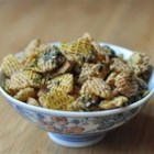 Furikake Snack Mix - A sweet and salty mixture of crispy cereal with sugar and furikake seasoning makes this popular Hawaii snack a crowd-pleaser!