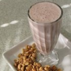 Peanut Butter 'N' Jelly Breakfast Shake - My husband is a big 'kid' who'll often whip up this tasty shake for breakfast on the go. Your kids will love the flavor of a peanut butter and jelly sandwich in it.