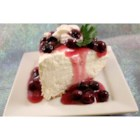 Fluffy Two Step Cheesecake II - An easy no-bake cheesecake that is also low in fat due to its ingredients.