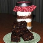 Sandcastle Brownie Mix - This is a recipe for a brownie mix in a jar with nuts and coconut. It makes a terrific gift!