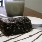 Amazing Slow Cooker Chocolate Cake - A rich moist chocolate cake, made easily in the slow cooker.