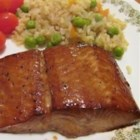 Delicious Salmon - Salmon is marinated in soy sauce, brown sugar, garlic, and lemon pepper overnight and then broiled for a simple-but-delicious main dish.