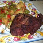 Chicken Fried Venison Steaks - Thinly pounded venison steaks get a coating of seasoned crumbs before being fried to a golden brown.