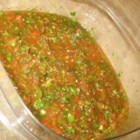 Ancho-Chipotle Salsa - Ancho, chipotle, and jalapeno chile peppers flavor this easy and tasty salsa.