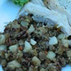 Apple and Pecan Stuffing - A simple, sweet stuffing that may be used as a side dish, or to fill the bird.