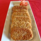 Breaded SPAM(R) Steaks - Luncheon meat is breaded and fried in this quick and easy dish.