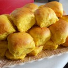 Winter Squash Rolls - Use butternut squash, acorn squash, pumpkin, delicata squash, or other winter squash to make these soft golden dinner rolls.