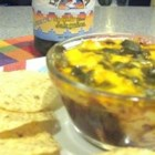 Nacho Dip II - This is a quick and easy chili cheese dip. I often double the recipe, it's so good and a crowd pleaser. Enjoy.