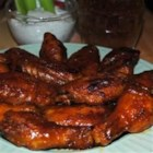 Blue Cheese Hot Wings! - Cheer on your favorite team with an ice-cold beverage and these fiery hot wings. The blue cheese flavor is baked right on.