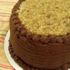 Willard Family German Chocolate Cake - This vintage recipe produces that classic chocolate cake swathed in coconut-pecan frosting that everybody loves.