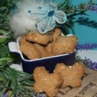 Brie's Very Vanilla Dog Treats - A bit of vanilla extract teams with peanut butter and applesauce to make treats for your favorite canine.