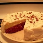 Red Velvet Cheesecake - A layer of red velvet cake and a layer of creamy cheesecake team up in a dessert that everyone will love.