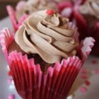 CINfully Delicious Chocolate Cupcakes - These snickerdoodle-inspired chocolate cupcakes are topped with a delightful cinnamon buttercream frosting.