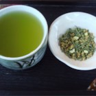 Genmai-cha - Toasted brown rice adds a delicious flavor to green tea in this traditional Japanese preparation.