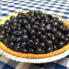 Jan's Fresh Blueberry Pie - This is a superb, easy dessert made with all-fresh blueberries during the peak of their season.  You're gonna love it!  At serving time, garnish with whipped topping.