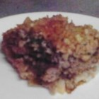 Grandma Flo's Shipwreck - A good old meat and potatoes dish for family dinner. It combines ground beef with potatoes, kidney beans, and tomato soup, and is baked in the oven.