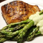 Maple Teriyaki Salmon Barbeque - This salmon recipe which was given by my mother is out of this world. Even my husband who hates salmon will eat this. This marinade is also very good on chicken breasts.