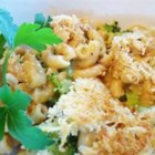 Old Fashioned Mac and Cheese - This classic recipe for creamy baked macaroni and cheese uses three cheeses to create a family-friendly meal.