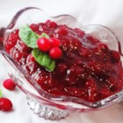 Holiday Cranberry Sauce - Fresh cranberries are boiled with spices and cooked with sugar to create a delicious sauce.