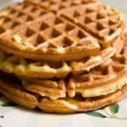 Great Easy Waffles - Vanilla and lemon zest flavor these family favorite waffles.