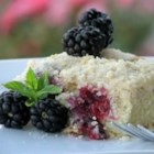 Easy Platz (Coffee Cake) - This is a basic crumb cake baked with blackberries. This would also be great with blueberries or raspberries - fresh or frozen.