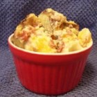 Indiana Potato Salad - Potato casserole is made with the classic flavors of bacon, cheese and onion.