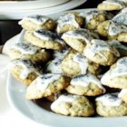 Poppy Seed Cookies I - This recipe for cookies filled with poppy seeds results in cookies that are light, fluffy, and very delicate.
