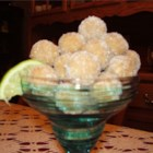 Margarita Balls I - Right up there with Rum Balls (see recipe).