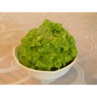 Mashed Potatoes with Spinach Pesto - Spinach, garlic, and vegetable stock give this bright green dish as much flavor as it has color!