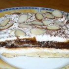 Sex in a Pan I - A wonderful nut crust is pressed into a large 9x13-inch pan and baked. Then a sweetened, cream cheese mixture is spread over the crust, and topped with a layers of whipped cream, chocolate pudding, vanilla pudding, and more whipped cream. Chill this luscious pie overnight and serve to sighs.