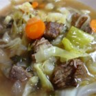 Cawl (Traditional Welsh Broth) - This recipe is popular with the local farming community of Cardiganshire. There are regional variations throughout Wales as to what meat is used; some use Pork or Mutton, we use Shin Beef. This soup tastes better after subsequent reheating, so it's probably a good idea to make the cawl a day before consumption.