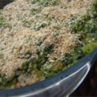 Green Rice I - This is a rich and creamy casserole of rice and spinach baked with an egg, evaporated milk and Cheddar cheese.