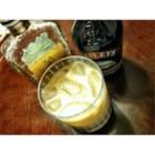 Irish Spritzer - A splash of soda gives a slight fizz to this drink featuring amaretto and irish cream liqueur.